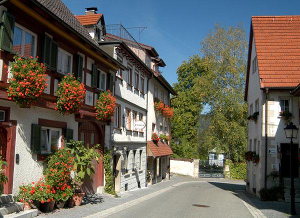 Llac constança en bicicleta. Ruta en bicicleta per Alemanya.