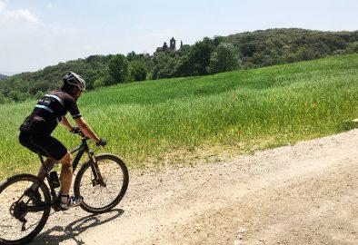 Ruta circular a Girona i rodalies. Rutes en bicicleta btt per Girona.